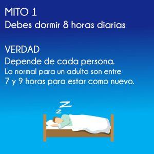 mitos y verdades para dormir