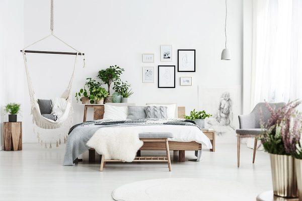 Coloca plantas en el dormitorio para combatir la depresión y la ansiedad